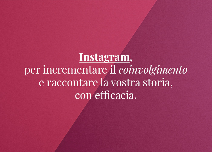 Perché scegliere Miss Key & Mr. Wolf per instagram e facebook